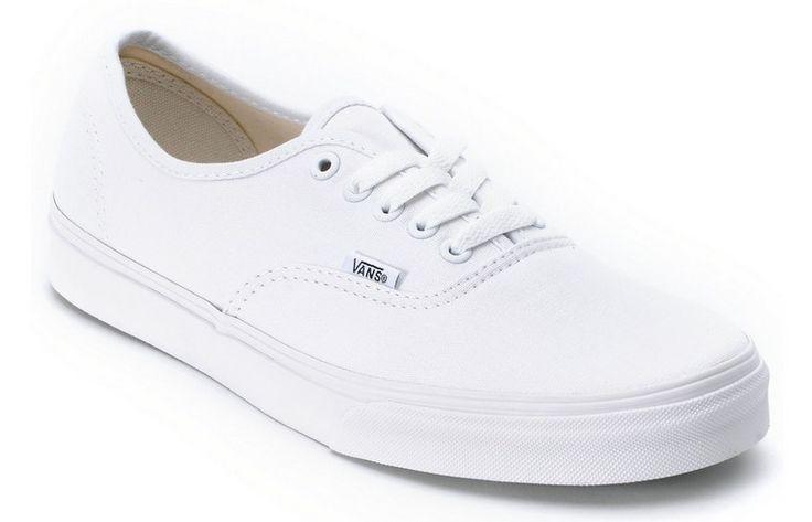 Vans Authentic White Shoe For Men