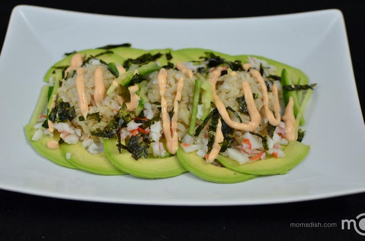 Craving California sushi roll? Well, this is a lazy way of preparing sushi :)