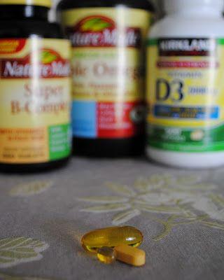 Lifting the Fog: 1.Triple Omega      2. Super B Complex          3. Vitamin D3