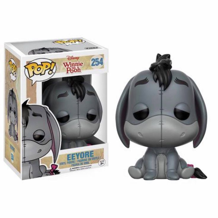 Eeyore Funko Pop Vinyl figure from Disney classic Winnie the Pooh Brought to you by Pop In A Box, the site Funko Pop! Vinyl shop