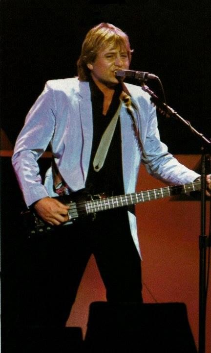 Greg Lake with the band ASIA December 1983