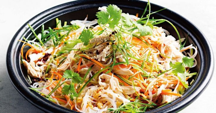 A tablespoon of honey offsets the salty soy and balances the dressing in this delicious chicken salad.