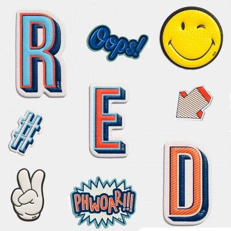 How amazing are these Anya Hindmarch stickers? We love them all! http://www.redonline.co.uk/fashion/fashion_news/Anya-Hindmarch-stickers-for-grown-ups