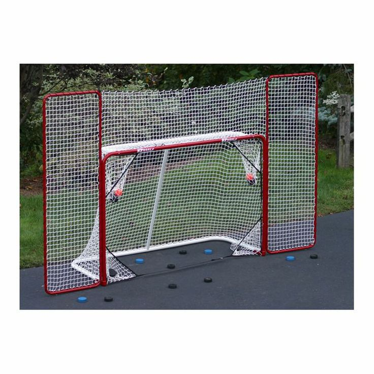 how to build a hockey goal