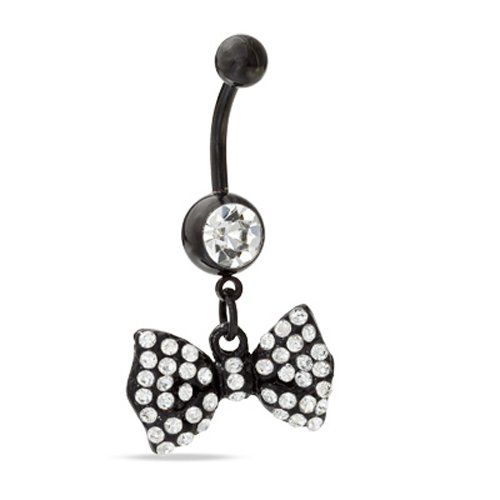 Belly Ring Bow Belly Button Ring Bana... $0.10 #topseller