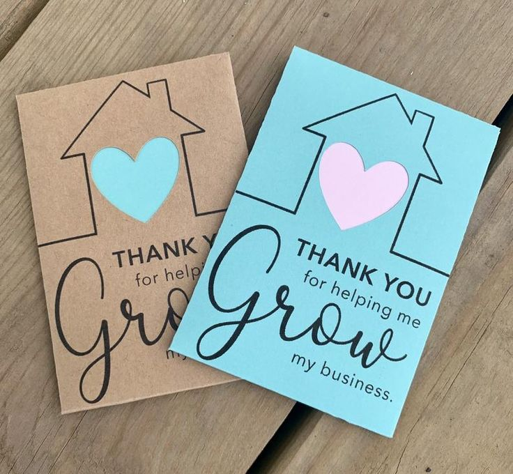 Flower Seed Packets / Pop By Gifts for Real Estate Agents | Thank You Gift | Promotional Business Cards | Flower Seed Favors