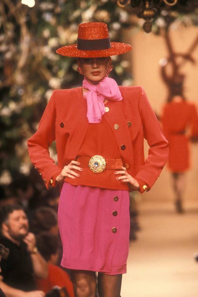 1988 - Yves Saint Laurent Couture show