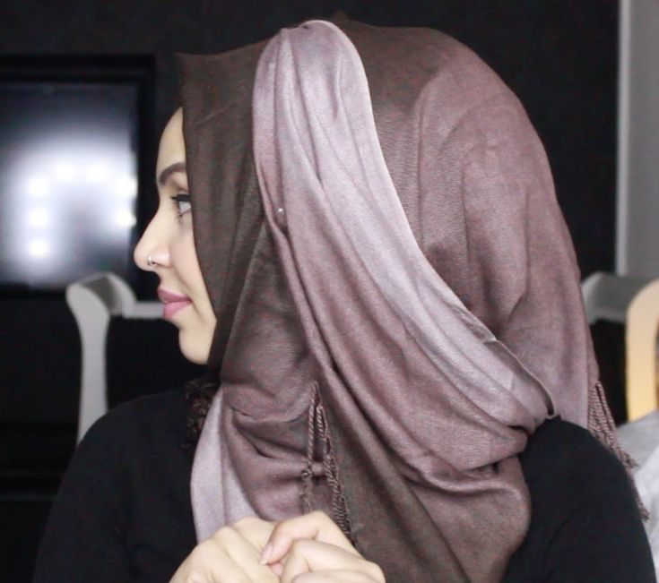 Ombre Pashmina Hijab Tutorial ft. Chicquehijaabz |by fatihasWORLD