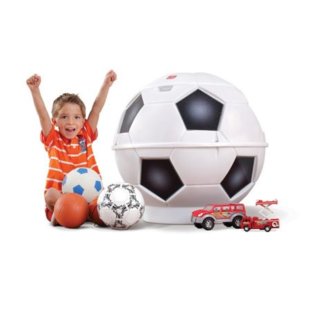 Football Toy Chest Calling all young football fans, you need this Football Storage Chest in your room! The brilliantly