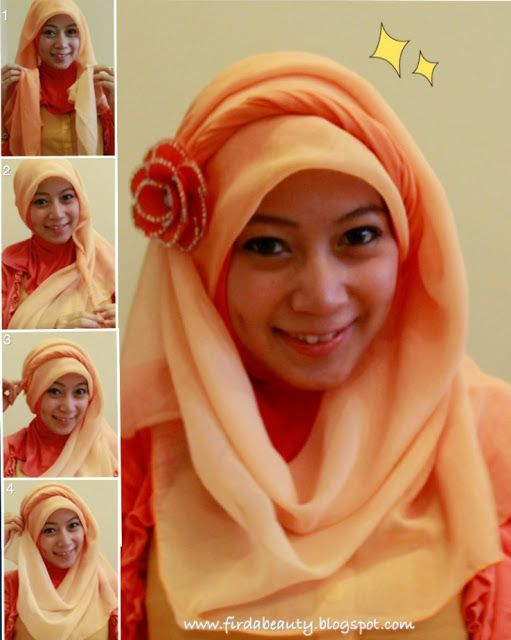 Tutorial Jilbab Paris Simple Cantik - Dorie Shop