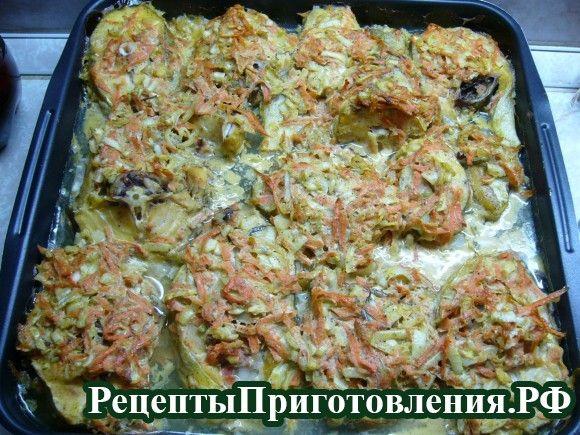 Треска, запеченная в духовке - пошаговый рецепт с фото