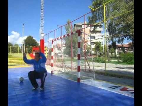 Kutanoski Handball Goalkeeper Training - Movement Speed Reaction