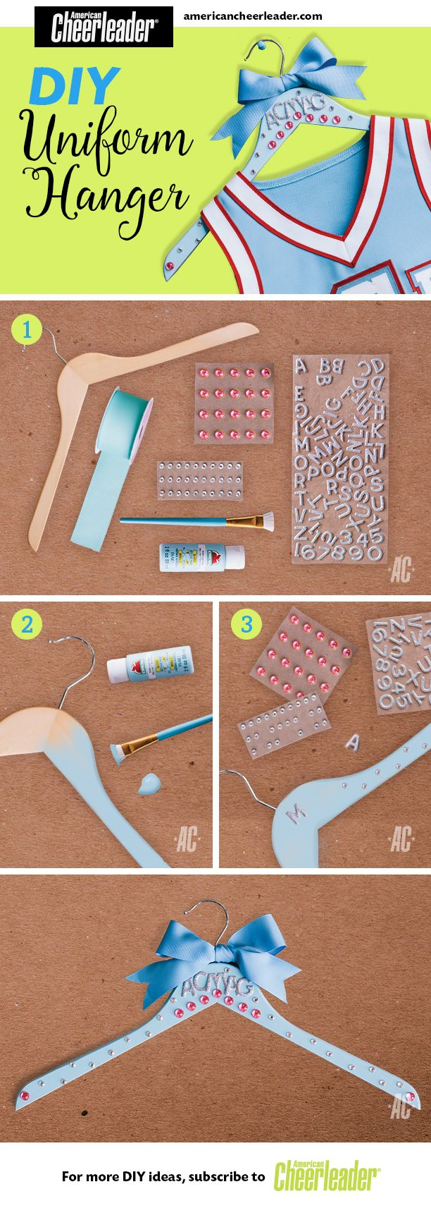 Keep that uniform in tip-top shape with this #DIY project.