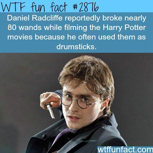Daniel Radcliffe Wands - WTF fun facts