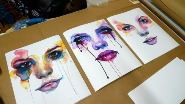 Amazing watercolor artworks