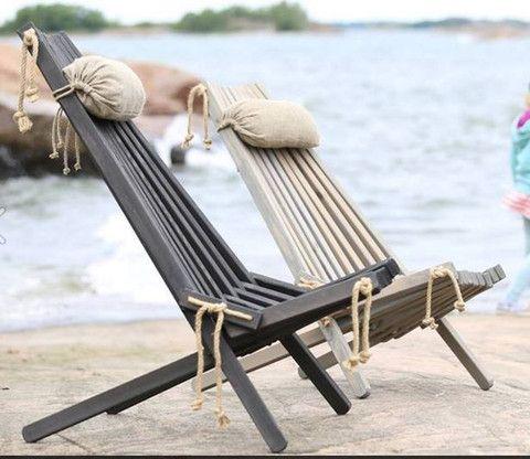 Ecofurn wooden deck chair