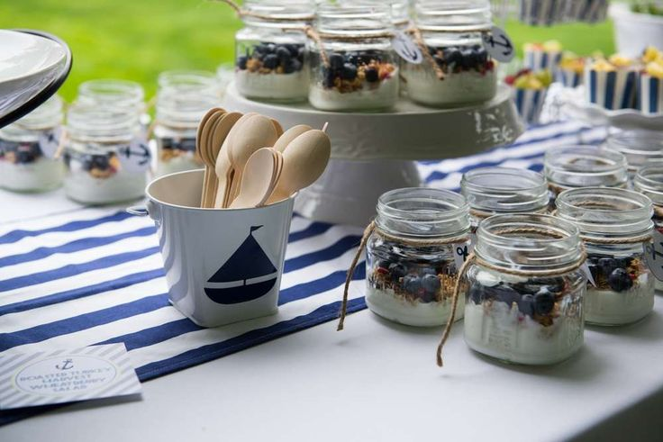 A Nautical Baby Shower   CatchMyParty.com