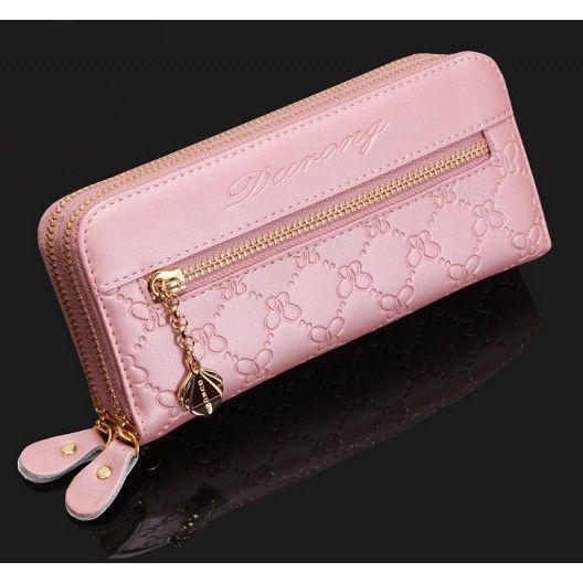 Double Zipper Clutch Bag / Wallet - Avec-Moi