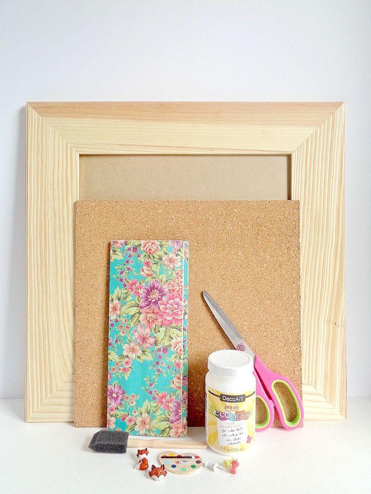 99 best Smart Cork Board Ideas images on Pinterest   Diy cork board ...
