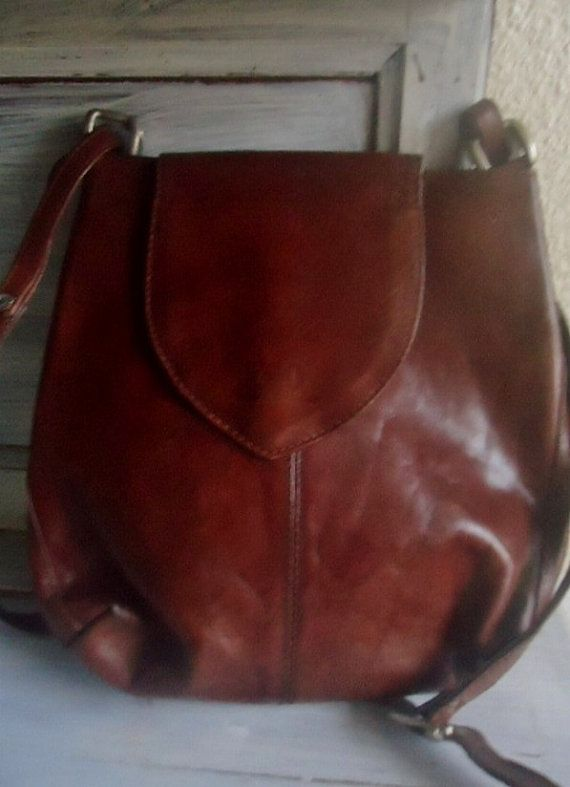 sac main cuir vintage sac main ego par frenchtouchsochic - Sac A Main Color
