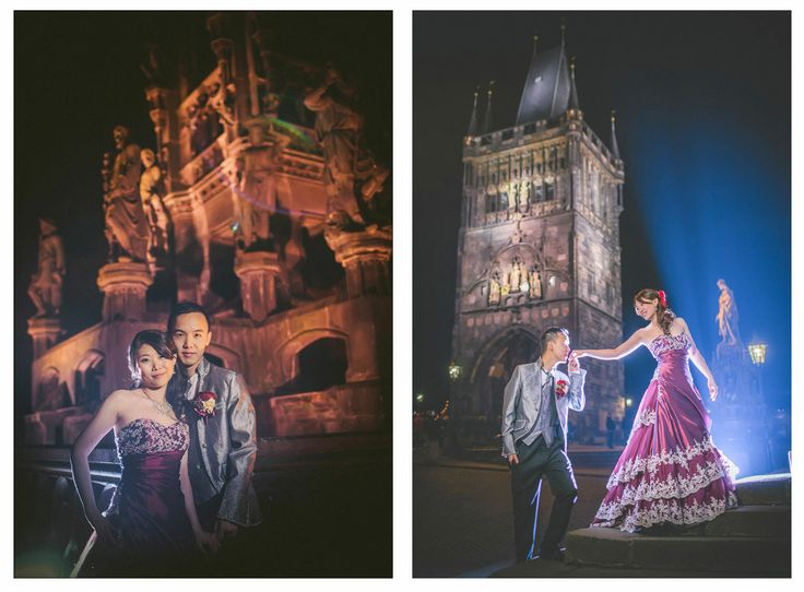 Sandy & Jimmy (Hong Kong) Pre Wedding Portrait Session in Prague