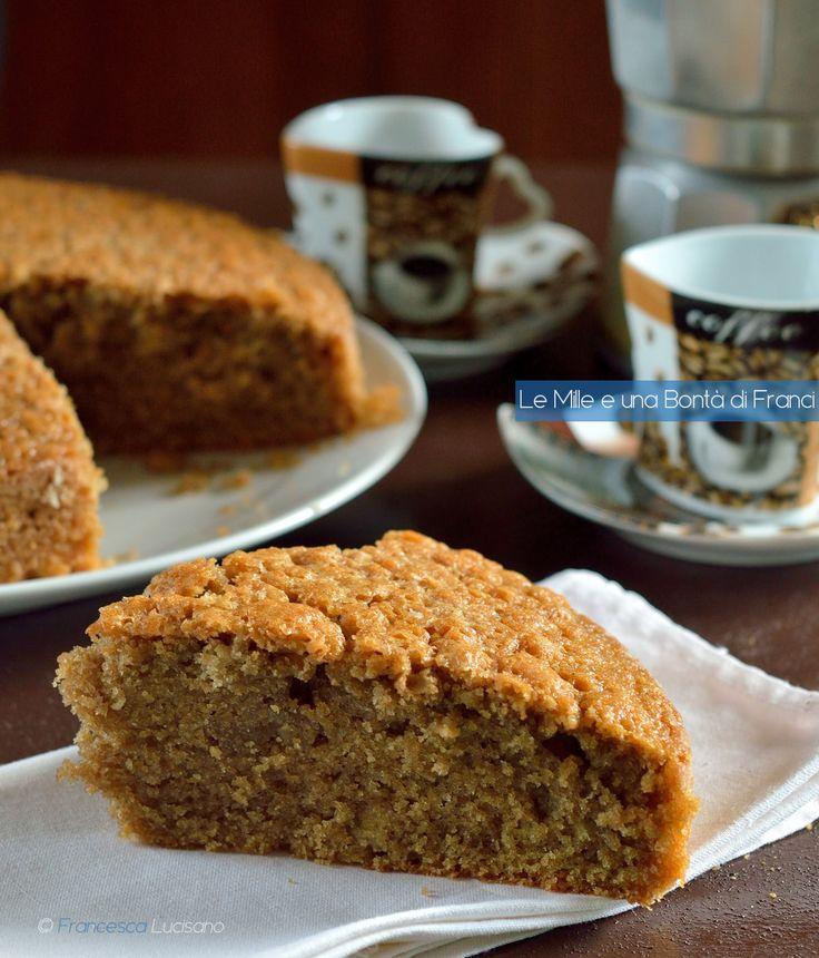 Per svegliarsi al mattino ci vuole sempre un bel caffè... Io lo metto in una torta golosissima!