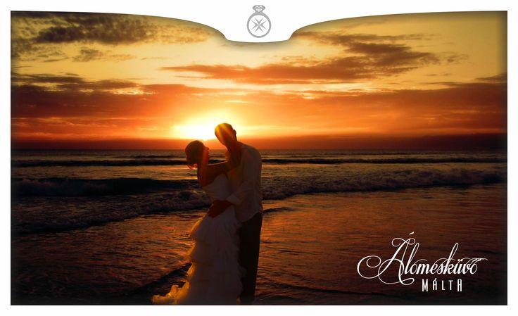 Tengerpart, naplemente, tengerparti esküvő, sunset