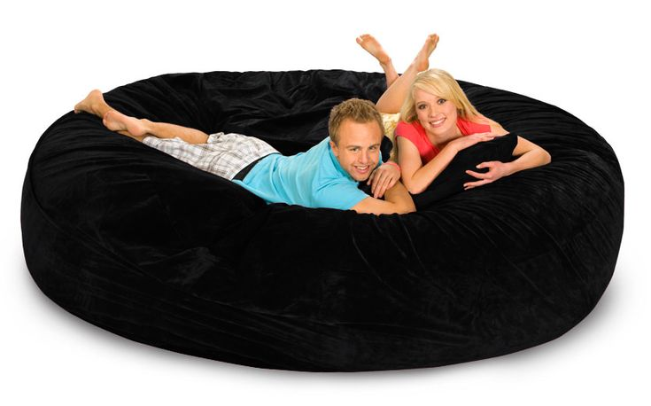 Be the hero when your family sees this huge luxury bean bag! Our 8 ft Bean Bag is massive, super-comfortable, and perfect for bringing families together. Select your favorite color and tell the family