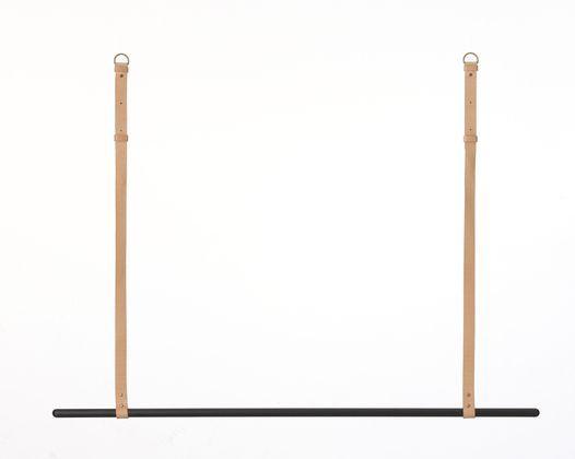 Simpel und sch n eine pulverbeschichtete eisenstange for Garderobe decke