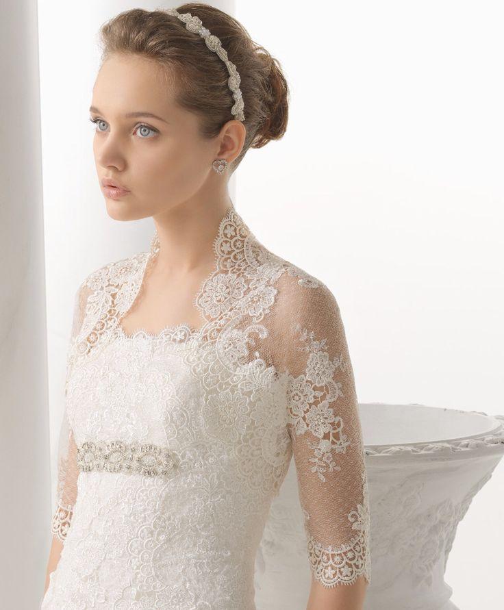 2014 Almanovia - Nostalgia esküvői ruha -Rosa Clará http://lamariee.hu/eskuvoi-ruha/almanovia-2014/nostalgia