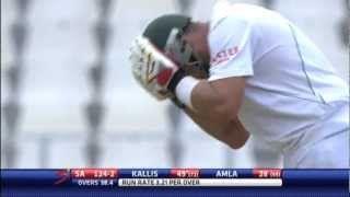 Kallis, De Villiers put South Africa on track (Lunch Report)