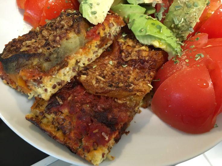 Pizza quinoa-millet (sans gluten)