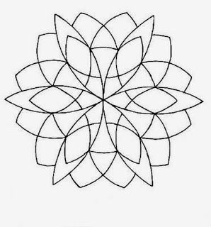 Feeling anxious or can't sleep? Colour a mandala to relieve your tension.