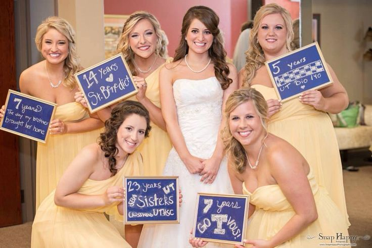 Love this idea for a bridemaids picture