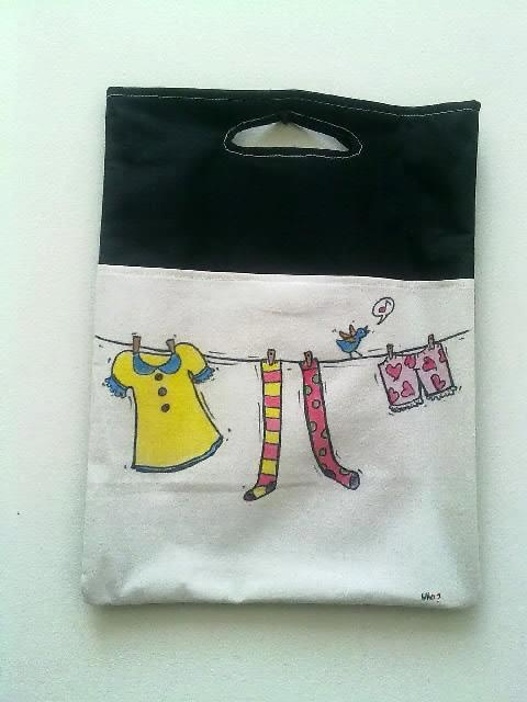 shopping bag and laptop bag too ;)