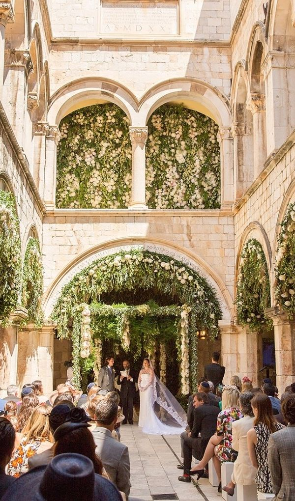 Inside Fabiola Beracasa and Jason Beckman's wedding in Croatia.