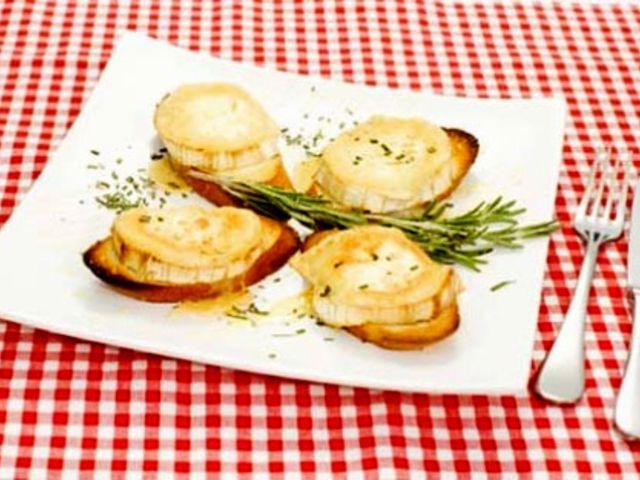 Toast med chèvre (kock Markus Aujalay)