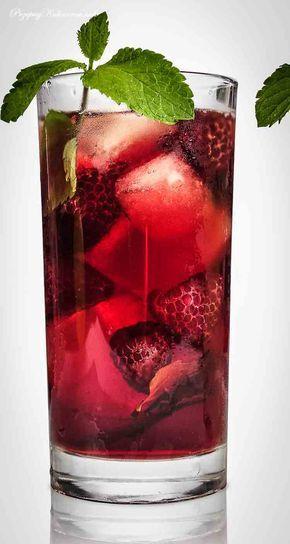 Napój truskawkowo-jabłkowy