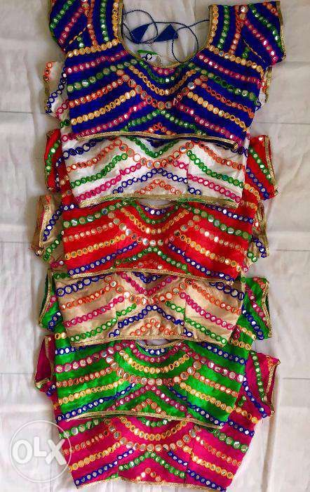 New kutch work mirror stitched blouses