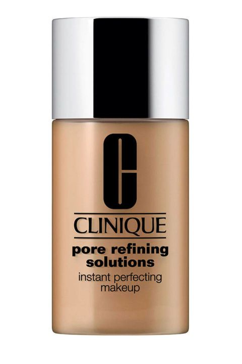 Clinique Pore Refining Solution Makeup. Shop it and the 13 other best oil-free foundations that will stay put no matter how oily your skin is.