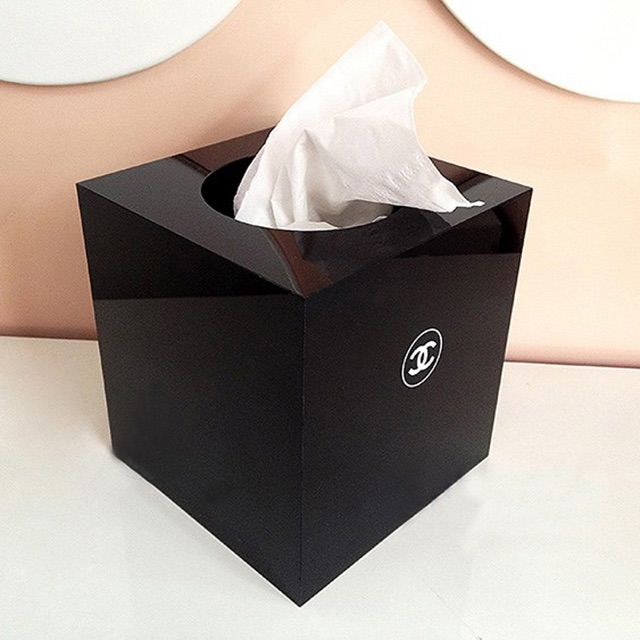 Chanel Tissue Box Chanel Makeup Accessories Chanel