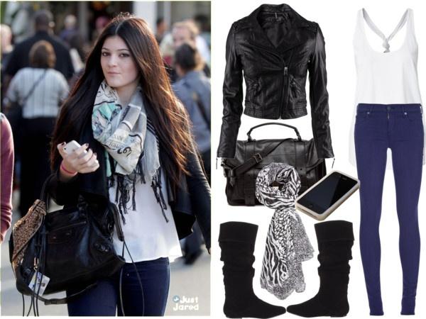 Kylie Jenner Style By Riskiaseptiani Liked On Polyvore P O L Y V O R E Pinterest Kylie