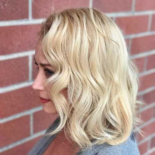 Chic & Fun-Kurze Blonde Haarschnitte