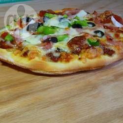 Massa de pizza profissional @ allrecipes.com.br