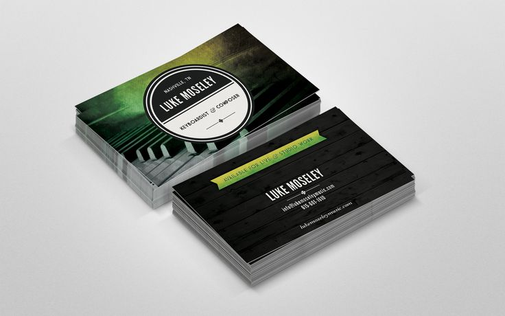 13 best our print work images on pinterest conference business business card design and printing for musiciancomposer in nashville tn reheart Gallery