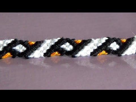 DIY Faire un bracelet de l'amitié facile (débutant)