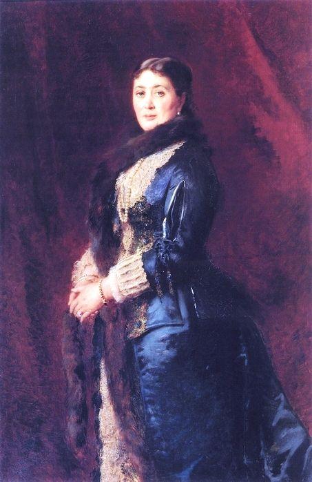 Гр. Мария Егоровна  Орловр-Давыдова (1842—1895), дочь гр. Егора Петровича Толстого(1802—1874). Муж- гр. Орлов-Давыдов Анатолий Владимирович (1837—1905), генерал-лейтенант