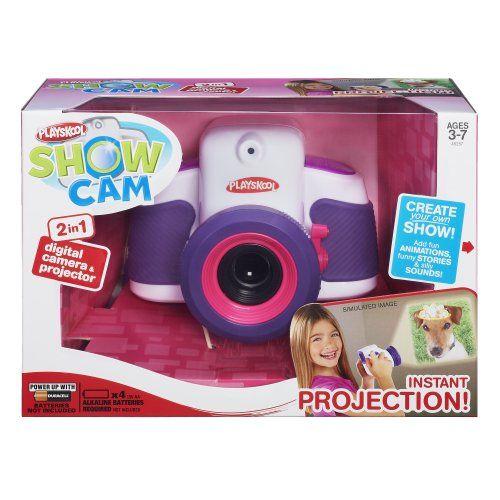 Playskool Showcam 2-in-1 Digital Camera and Projector (White)
