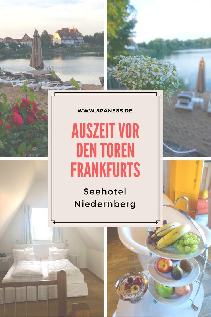 Urlaub Frankfurt am Main - 24 Stunden Auszeit im Seehotel Niedernberg.