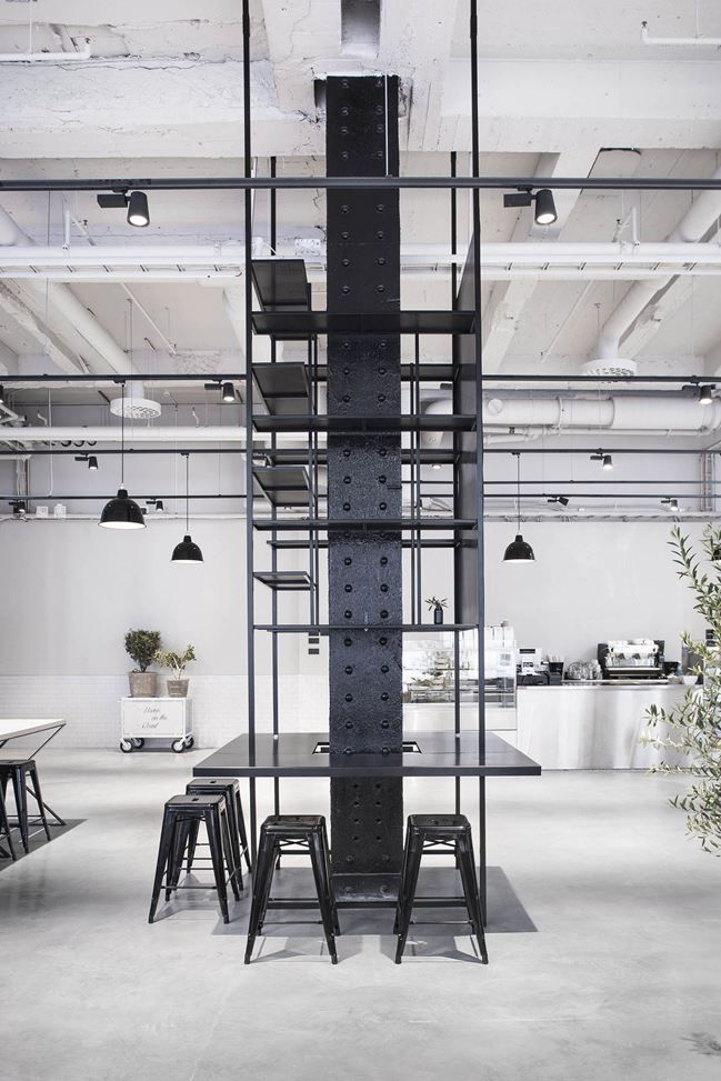 Interior Designer Richard Lindvall Transformed A 2000 Square Meter Sausage Factory Into Usine An Industrial Style Restaurant Located In Stockholm Sweden